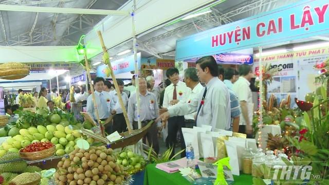 Xúc tiến đầu tư từ Triển lãm thành tựu phát triển doanh nghiệp Tiền Giang  - ảnh 1