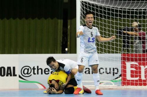 Thái Sơn Nam vào bán kết Giải Câu lạc bộ futsal châu Á - ảnh 1