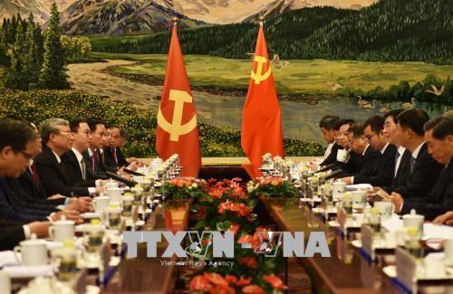 Đưa quan hệ Việt Nam và Trung Quốc tiếp tục phát triển ổn định, lành mạnh trong thời gian tới - ảnh 2