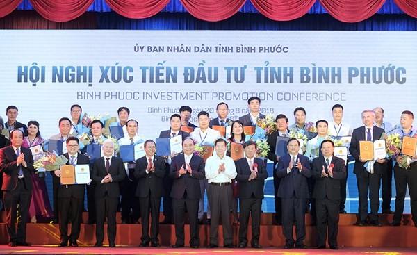 """Thủ tướng Nguyễn Xuân Phúc: Bình Phước cần phát huy tinh thần """"ta bên bạn và bạn bên mình"""" trong phát triển  - ảnh 2"""