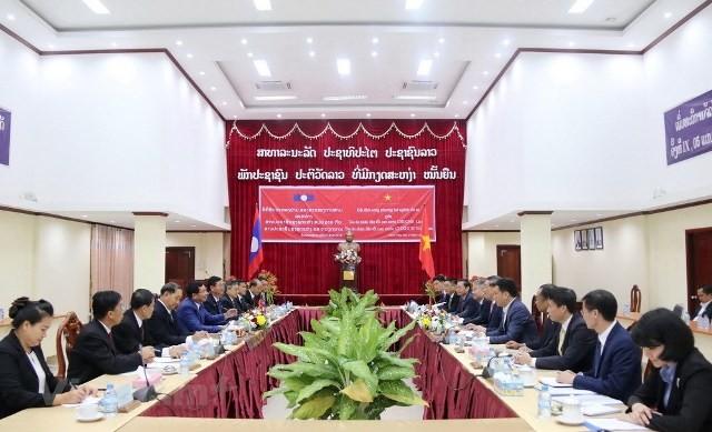 Hợp tác giữa hệ thống tòa án Việt - Lào ngày càng hiệu quả, thực chất - ảnh 1