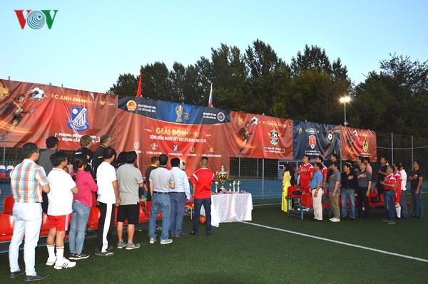 Bế mạc giải bóng đá Cộng đồng người Việt tại LB Nga năm 2018 - ảnh 1