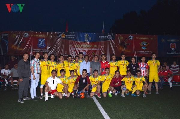 Bế mạc giải bóng đá Cộng đồng người Việt tại LB Nga năm 2018 - ảnh 2