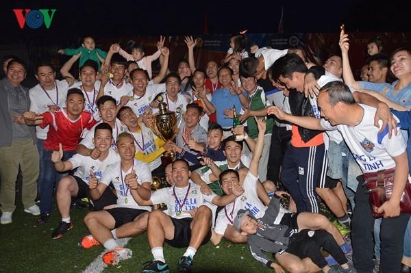 Bế mạc giải bóng đá Cộng đồng người Việt tại LB Nga năm 2018 - ảnh 3