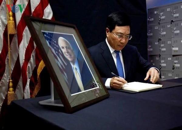 Thượng nghị sỹ John McCain - Người có nhiều đóng góp to lớn trong việc xác lập quan hệ Đối tác toàn diện Việt Nam – Hoa Kỳ - ảnh 1