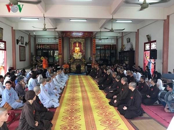 Xúc động lễ Vu Lan báo hiếu của cộng đồng người Việt tại Thái Lan - ảnh 1