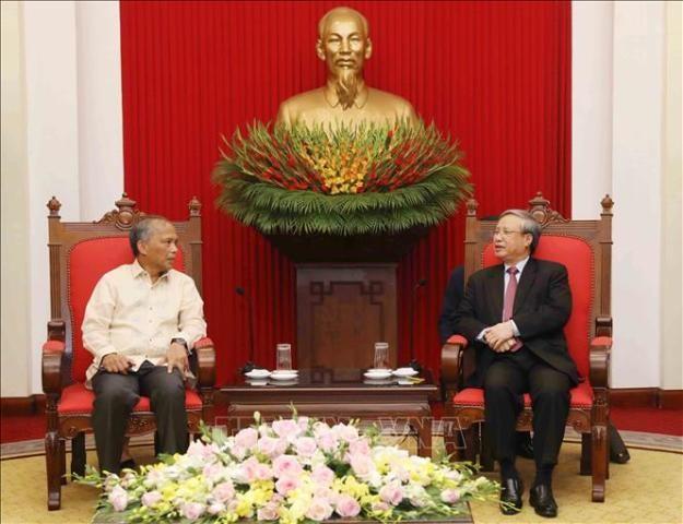 Việt Nam và Philippines kiên trì biện pháp hòa bình trong giải quyết các tranh chấp trên Biển Đông - ảnh 1
