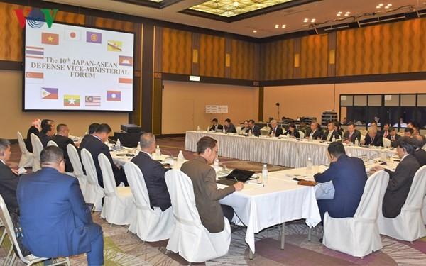 Việt Nam tham dự Hội nghị Thứ trưởng Quốc phòng ASEAN - Nhật Bản lần thứ 10  - ảnh 1