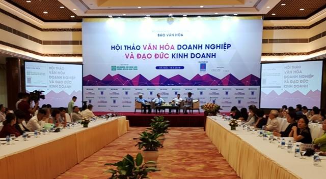 Hội thảo văn hóa doanh nghiệp và đạo đức kinh doanh - ảnh 1