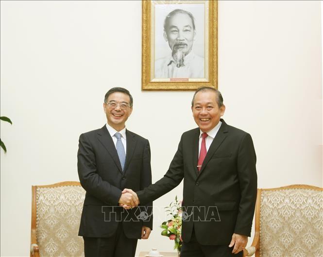 Phó Thủ tướng Trương Hoà Bình: Việt- Trung tiếp tục chia sẻ, hợp tác trong lĩnh vực tư pháp - ảnh 1