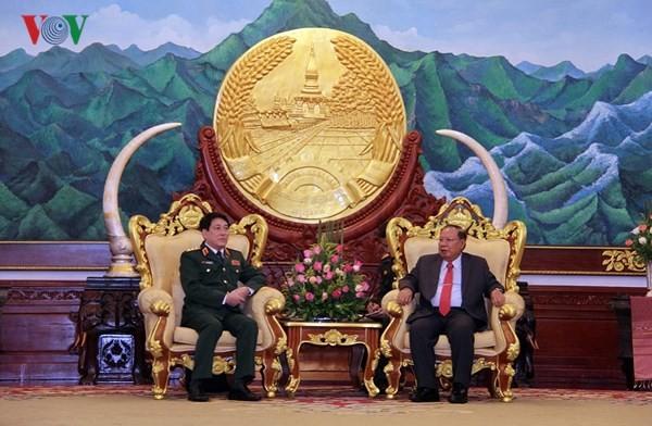 Củng cố quan hệ hữu nghị truyền thống Việt Nam - Lào - ảnh 1