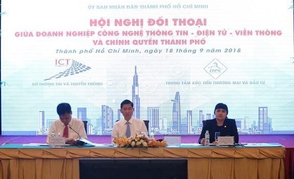 Thành phố Hồ Chí Minh tháo gỡ khó khăn cho doanh nghiệp - ảnh 1