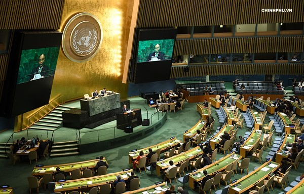 Thủ tướng Nguyễn Xuân Phúc dự Phiên thảo luận cấp cao Đại hội đồng LHQ khóa 73 - ảnh 2