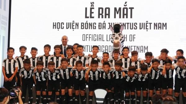 Ra mắt Học viện bóng đá Juventus Việt Nam - ảnh 1