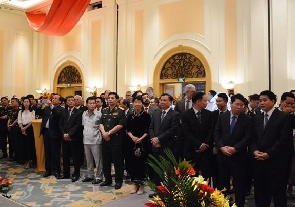 Chiêu đãi kỷ niệm 69 năm Quốc khánh Cộng hòa Nhân dân Trung Hoa - ảnh 1