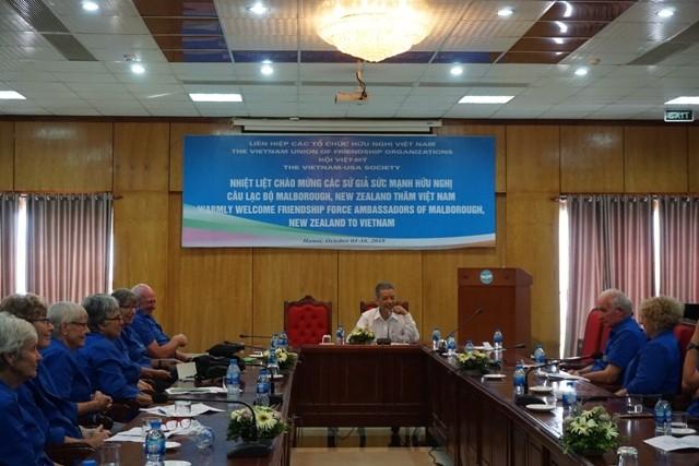 Thúc đẩy quan hệ hữu nghị giữa nhân dân Việt Nam với nhân dân các nước - ảnh 1