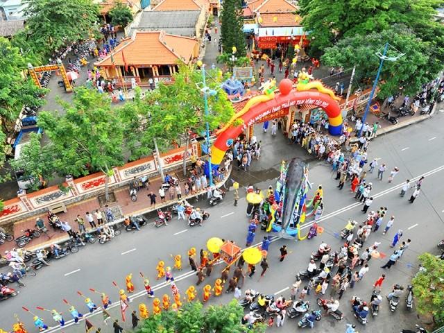 Ấn tượng lễ hội truyền thống Bà Rịa-Vũng Tàu - ảnh 2