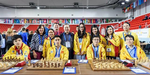 Việt Nam giành huy chương vàng cá nhân tại giải cờ Vua đồng đội thế giới - ảnh 1