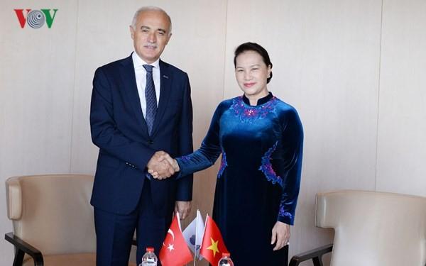 Chủ tịch Quốc hội tiếp Chủ tịch Hội đồng Kinh tế đối ngoại Thổ Nhĩ Kỳ - ảnh 1