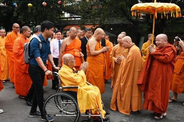 Đoàn Phật giáo Thái Lan thăm Việt Nam - ảnh 1
