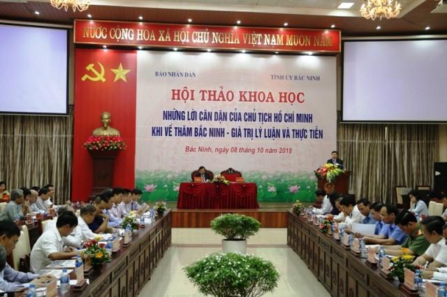 Những lời căn dặn của Chủ tịch Hồ Chí Minh khi về thăm Bắc Ninh: Giá trị lý luận và thực tiễn - ảnh 1