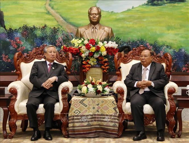 Đưa mối quan hệ Việt Nam – Lào ngày càng phát triển đi vào chiều sâu, thiết thực trên mọi lĩnh vực - ảnh 1