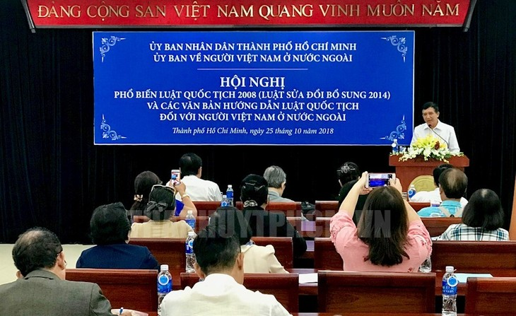 Thành phố Hồ Chí Minh hỗ trợ tối đa cho kiều bào các vấn đề liên quan đến quốc tịch - ảnh 1