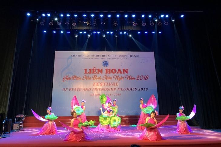 Đặc sắc những giai điệu hòa bình, hữu nghị từ Thủ đô Hà Nội - ảnh 1