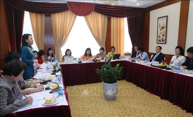 Hội Liên hiệp Phụ nữ Việt Nam - Triều Tiên tăng cường hợp tác - ảnh 1
