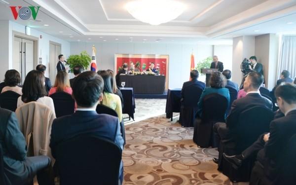 Người Việt Nam tại Hàn Quốc là cầu nối cho sự gắn bó, hợp tác và phát triển lâu bền giữa hai đất nước - ảnh 2