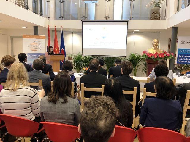 Việt Nam tham dự Hội nghị Bàn tròn lần thứ 8 về Biến đổi Khí hậu và An ninh - ảnh 1
