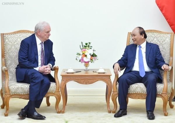 Thủ tướng Nguyễn Xuân Phúc tiếp Giáo sư Đại học Harvard, Hoa Kỳ - ảnh 1