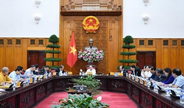 Thủ tướng Nguyễn Xuân Phúc chủ trì họp về công tác tổ chức Đại lễ Vesak 2019 - ảnh 1
