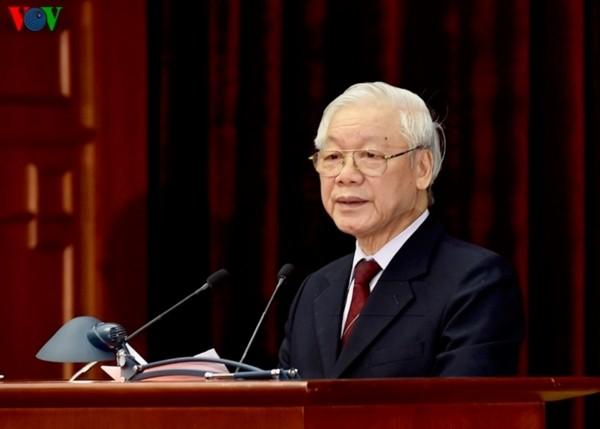 Toàn văn phát biểu của Tổng Bí thư, Chủ tịch nước Nguyễn Phú Trọng bế mạc Hội nghị Trung ương 9 - ảnh 1