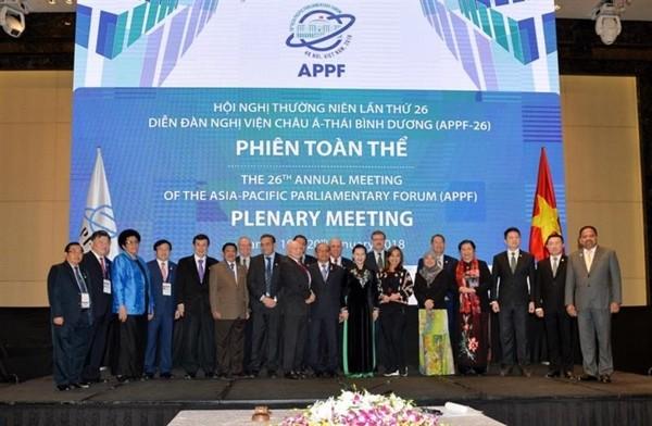 Nhiều dấu ấn trong hoạt động đối ngoại Quốc hội Việt Nam năm 2018  - ảnh 1