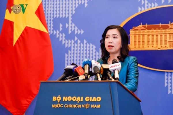 Việt Nam luôn tôn trọng quyền tự do hàng hải, hàng không ở Biển Đông - ảnh 1