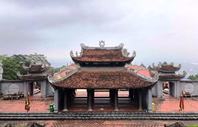Nét kiến trúc độc đáo và thiên nhiên kỳ thú ở danh thắng Đền Cao An Phụ - ảnh 1