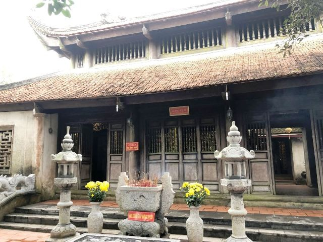 Nét kiến trúc độc đáo và thiên nhiên kỳ thú ở danh thắng Đền Cao An Phụ - ảnh 2