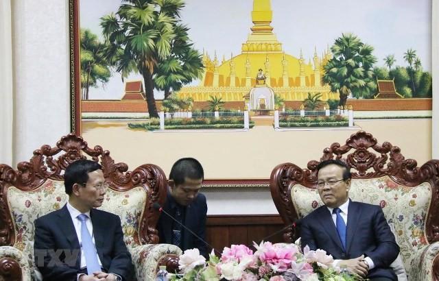 Tăng cường hợp tác thông tin truyền thông giữa Lào và Việt Nam - ảnh 1