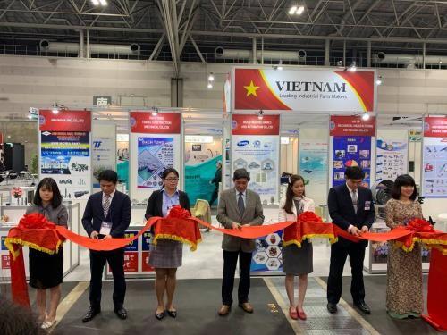 Doanh nghiệp Việt Nam tham dự triển lãm công nghiệp chế tạo tại Nhật Bản  - ảnh 1