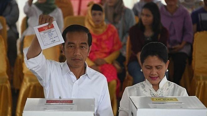 Điện mừng Indonesia tổ chức thành công cuộc Bầu cử Tổng thống và Bầu cử Quốc hội - ảnh 1