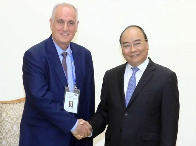 Thủ tướng Nguyễn Xuân Phúc tiếp Đoàn các hãng thông tấn tham dự Hội nghị Ban Chấp hành OANNA lần thứ 44 - ảnh 1