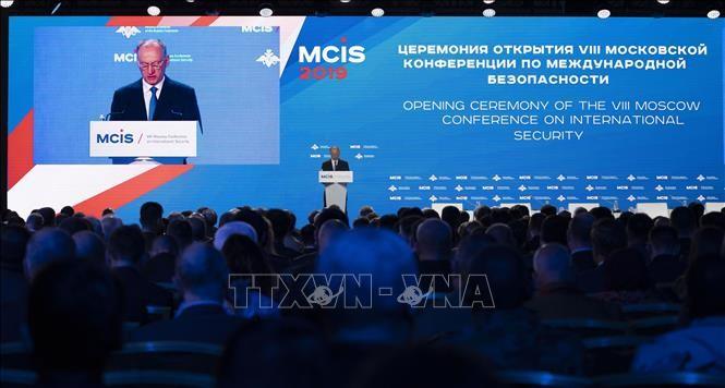 Việt Nam tham dự Hội nghị An ninh quốc tế Moskva 2019 - ảnh 1