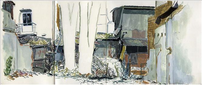 """Độc đáo triển lãm """"Nhựa cây vẫn chảy"""" của nghệ sĩ Pháp và Việt Nam - ảnh 2"""