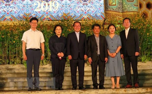 Trao danh hiệu Công dân danh dự của thành phố Huế cho ông Kwang Han  - ảnh 1