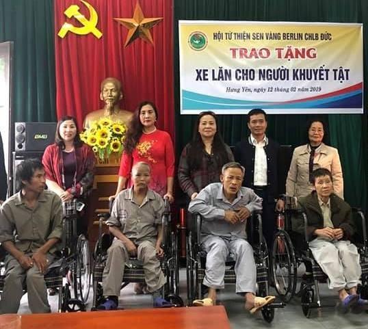 Hội từ thiện Sen Vàng Berlin và những dự án trên quê hương Việt Nam - ảnh 1