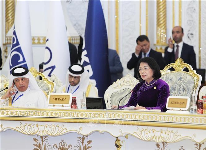 Phó Chủ tịch nước Đặng Thị Ngọc Thịnh dự Hội nghị Thượng đỉnh CICA - ảnh 1