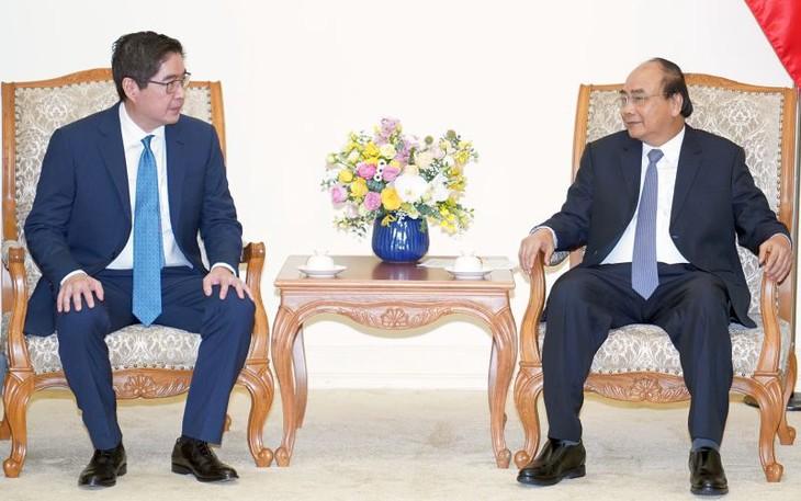 Thủ tướng tiếp nhà đầu tư Philippines lớn tại Việt Nam - ảnh 1