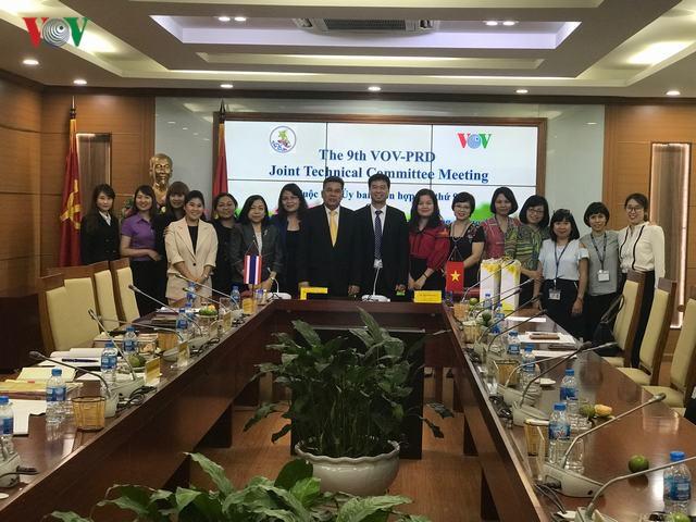 Tăng cường trao đổi và hợp tác hiệu quả giữa Ủy ban Quan hệ Công chúng Thái Lan và Đài Tiếng nói Việt Nam - ảnh 1