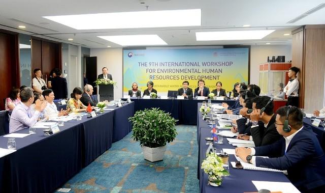 Hội thảo quốc tế lần thứ 9 về phát triển nhân lực lĩnh vực môi trường - ảnh 1